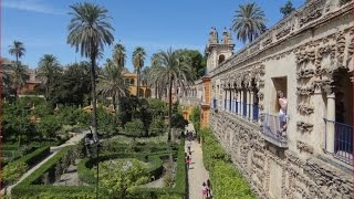 Испания Алькасар, Королевская Резиденция, Сады