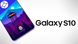 Samsung Galaxy S10 - FINALLY a Notchless Design?