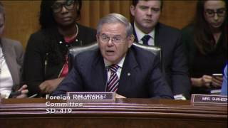 Sen. Menendez Votes No on Rex Tillerson