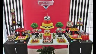 Disney Cars Birthday Party - Little Wish Parties Childrens Party Blog