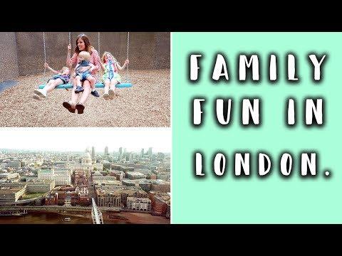TAKING THREE KIDS ON A FUN TRIP TO LONDON AD