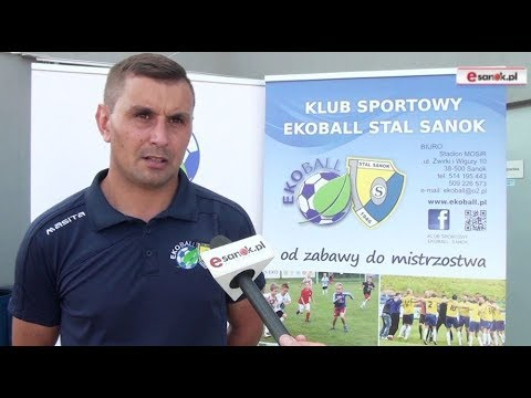 WIDEO: Ekoball Stal Sanok przed sezonem 2019/20 [WYWIAD]