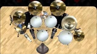 DvDrum 2 : EdanE - Jadi Beken (virtual drum cover)