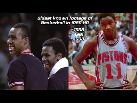 The Oldest Footage of Basketball in 1080 HD (1968, 1981, 1998) - and film of Dr. James Naismith