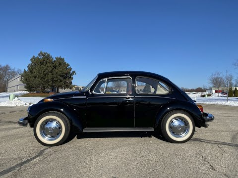 1974 Volkswagen Super Beetle in Big Bend, Wisconsin - Video 2