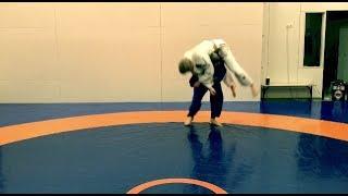 Дзюдо. Бросок мельница / Бычок. Бросок через плечи. Judo. Kata Guruma. Judo throws