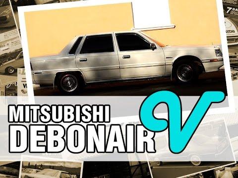 Mitsubishi DEBONAIR V, 1988, 6G71, 150 hp - краткий обзор