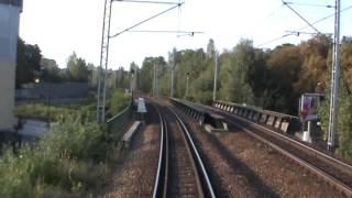 preview picture of video 'Odcinek Katowice - Bytom z tyłu pociagu IR Pirania'