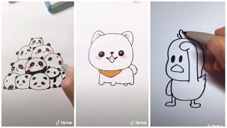 TikTok Vẽ Hình Cực Cuteee