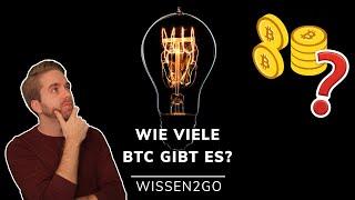 Wie viele Bitcoins gibt es heraus?
