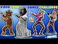 GRANNY vs BENDY vs HELLO NEIGHBOR vs FORTNITE vs FNAF vs ROBLOX! CRAZY VIDEO GAME DANCE CHALLENGE!