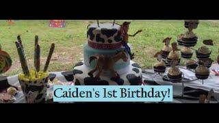 Caidens Cowboy Birthday Vlog
