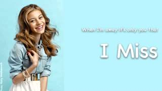 "G Hannelius ""Stay Away"" Lyrical Video"