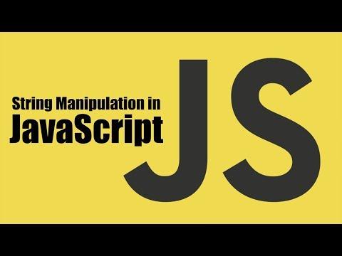 String Manipulation In JavaScript | Part 8 | Eduonix