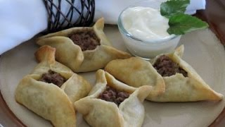 Middle Eastern Appetizer Recipe (Sfihas) - The Frugal Chef