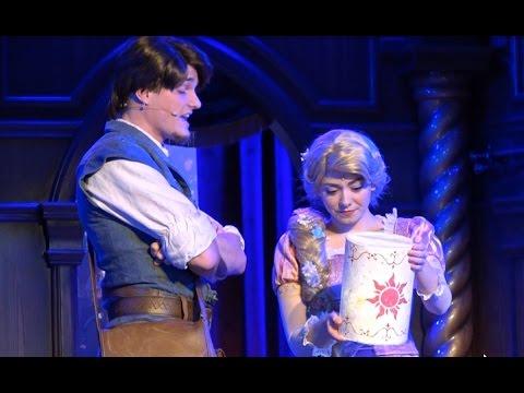 【DLR60】ロイヤル・シアター~塔の上のラプンツェル~【カリフォルニアディズニー】 Rapunzel (Tangled) at the Royal Theater 2016