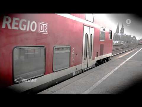 Deutsche Bahn: Immer wieder werden Zugtüren zum gefährlichen Verhängnis (25.02.2016 ARD-BRISANT)
