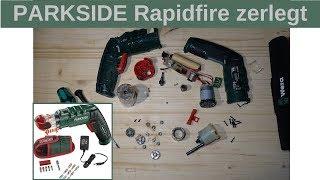 Parkside Rapidfire 2.0 zerlegt - wie ist die Qualität??