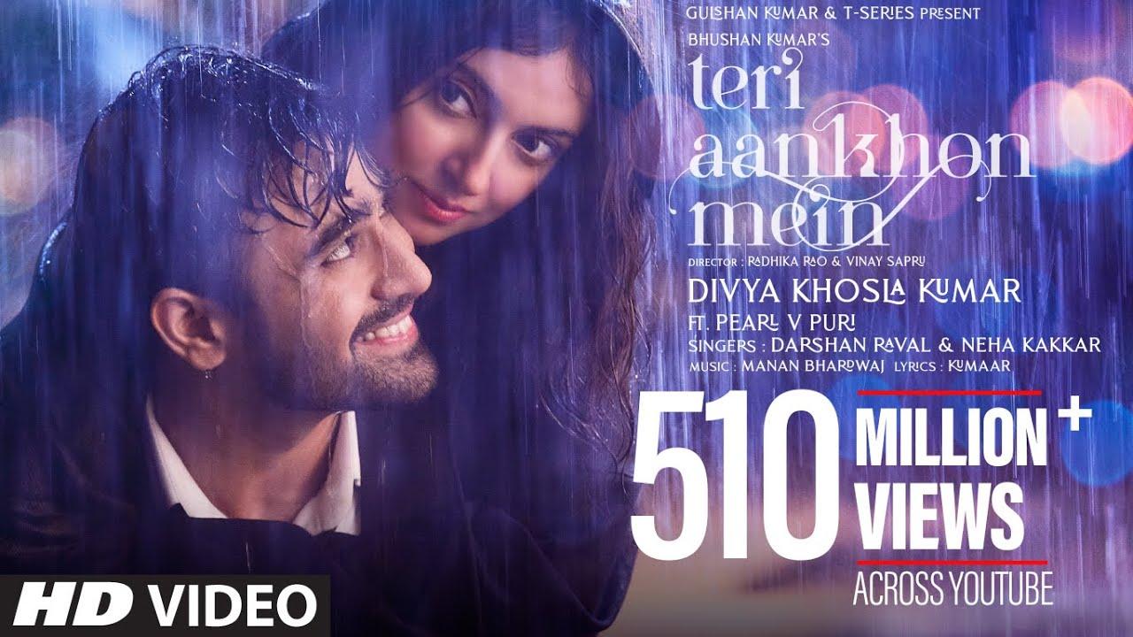 Teri Aankhon Mein : Divya K Full Song Lyrics | Darshan R, Neha K | Pearl V Manan B | Radhika, Vinay | Bhushan