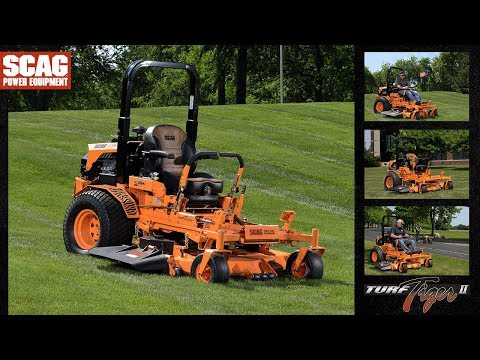 2021 SCAG Power Equipment Turf Tiger II 61 in. Briggs Vanguard 31 hp in Francis Creek, Wisconsin - Video 1
