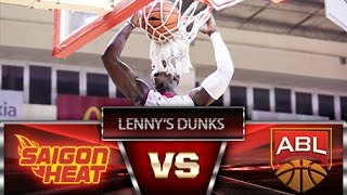 Giải bóng rổ ABL | Highlights | Tổng hợp những Pha Dunk rổ đẹp mắt của Lenny Daniel