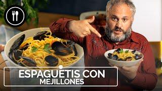 Espaguetis con MEJILLONES, la receta del Jaime Oliver