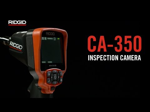 RIDGID micro CA-350 Inspection Camera