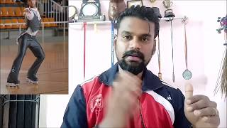 How to learn speed skating tutorial 1   tamil