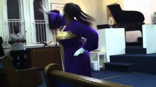 ANOINTED 1~Praise Dance to James Fourtune We Give You Glory + Repraise