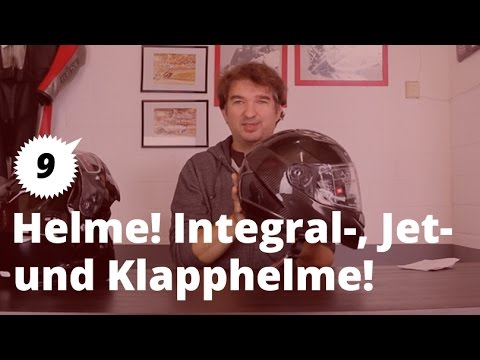 Motorrad Brune Bikes / Tipps und Tricks / Helme /Integral-, Klapp-, Jethelme