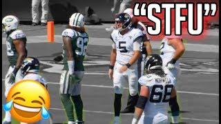 "NFL Funniest ""Mic'd Up"" Moments From the 2018-2019 Season (Funny)"