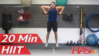 HASfit Warrior 20 Minute HIIT Workout Part 3 of 3 | BEST Home Fitness Training Exercises by HASfit