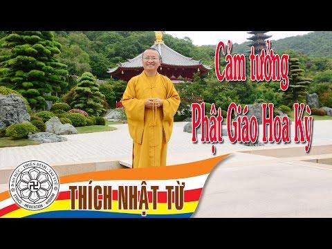 Trả lời phỏng vấn đài Đuốc Tuệ: Cảm tưởng Phật giáo Hoa Kỳ (17/10/2004)