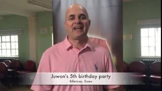 Juwon's 5th birthday party