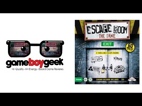 Escape Room the Game Review with the Game Boy Geek