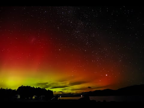 Milkyway and Aurora australis (은하수와 오로라)