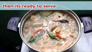 pork sinabawan recipe