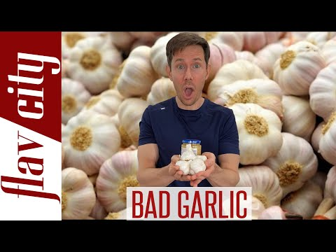 , title : 'You're Buying Garlic That Is Bleached, Grown In Sewer Water, And From CHINA!