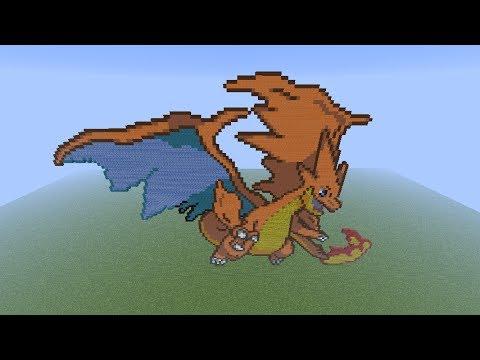 Mega Charizard Pokemon Y Minecraft Project