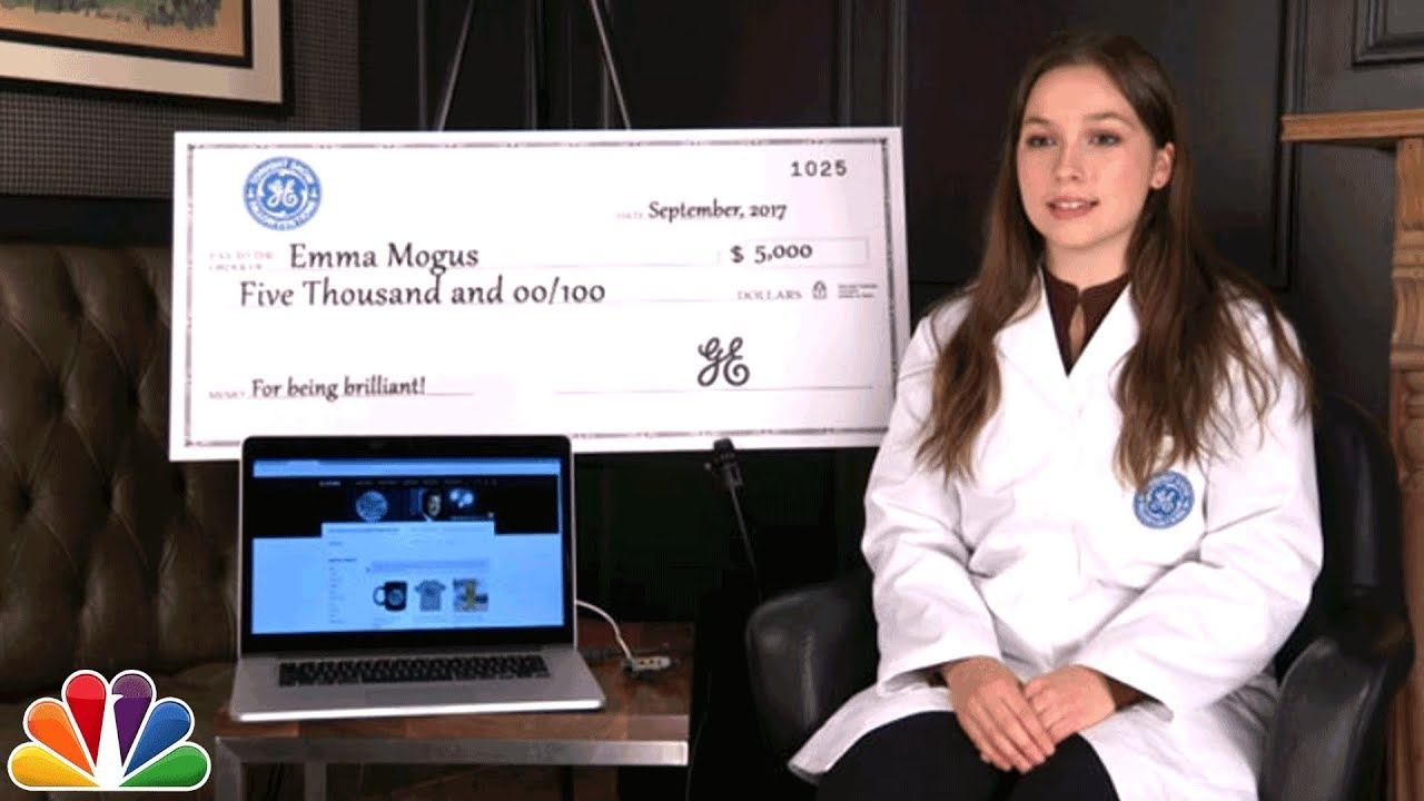 GE Fallonventions: Meet Inventors Patrick Joiner, Emma Mogus and Leah Thobe thumbnail