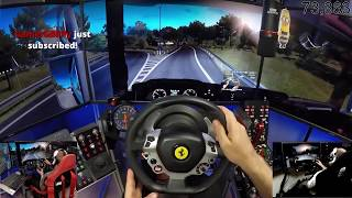 euro truck simulator 2 (Armstrong haulage) DAY 9 with dad