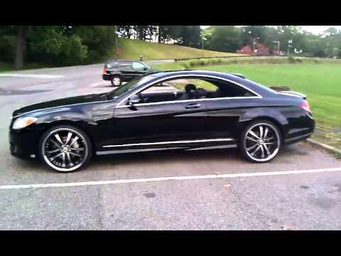 Mercedes Benz Cl 550 22's