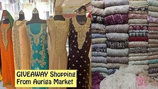 GIVEAWAY Shopping For My Lovely Subscribers From Auriga Market | Ayesha N