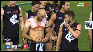 Cam Guthrie Swaps Jumpers With Chris Judd - AFL
