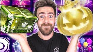 100 NEW Golden Pumpkin and Vindicator Crate Opening!
