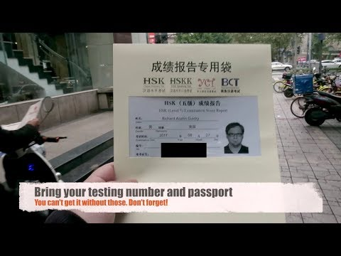 NAILED IT! Getting my HSK Certificate | Chinese Proficiency Exam ...