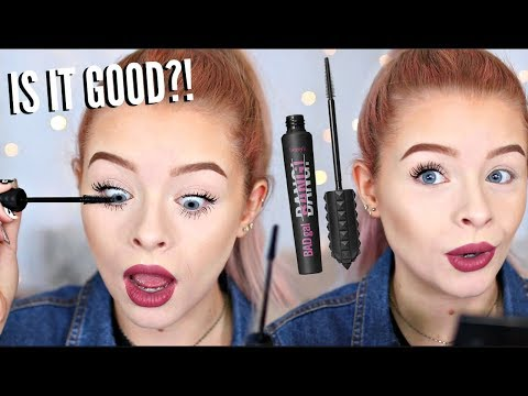 TESTING NEW BENEFIT BAD GAL BANG MASCARA.. WORTH THE HYPE?? | sophdoesnails