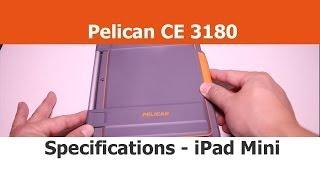 Close Up - Pelican CE3180 Vault Series Case - IPad Mini Cases