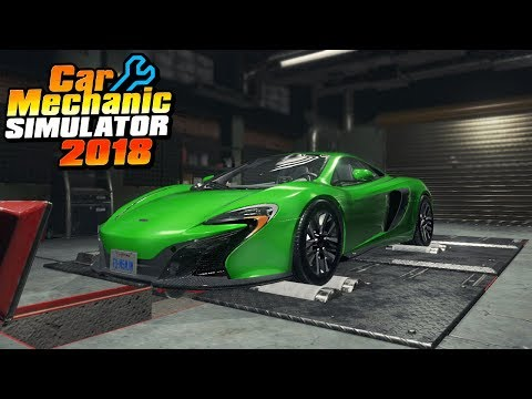 1000hp MCLAREN DYNO - Car Mechanic Simulator 2018