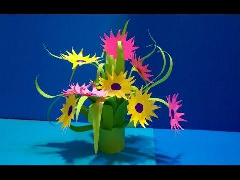 ПОДАРОК МАМЕ,УЧИТЕЛЮ,БАБУШКЕ СВОИМИ РУКАМИ День Рождение,День Матери,8 Марта/Поделки Цветы